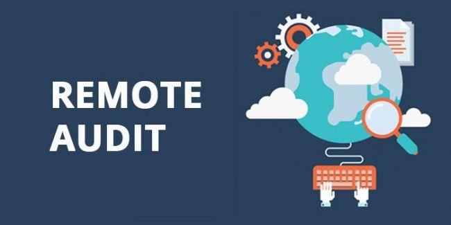 Remote audit adalah audit yang dilakukan sebagian atau seluruhnya di luar lokasi. Audit tetap akan mencakup semua area tetapi menggunakan teknologi digital untu